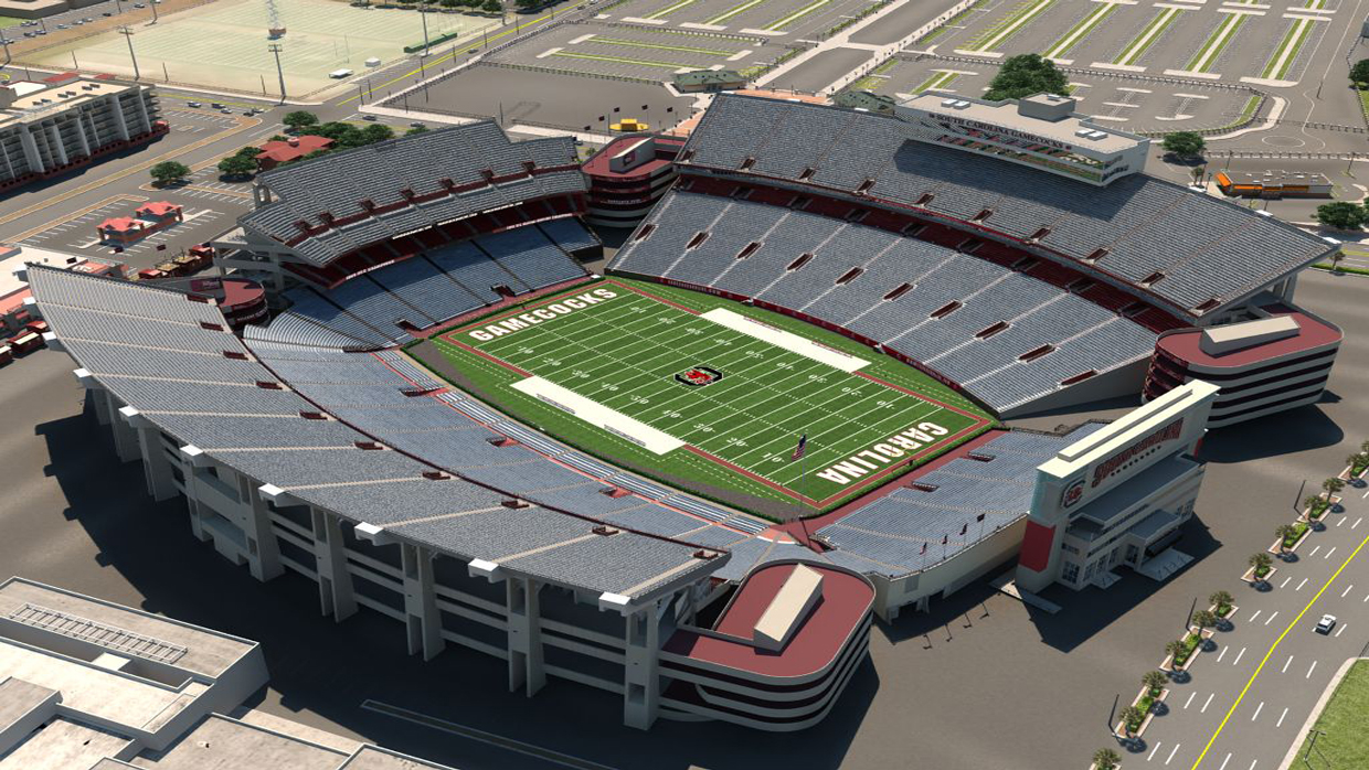 South Carolina Football Virtual Venue™ by IOMEDIA